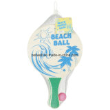 Surf Classic Beach Ball Tennis Wooden Paddle Game Great for Beach, Backyard, Garden Beach Racquet