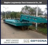 Best Price Detachable 50-70ton Load 3 Axle Heavy Duty Low Bed Semi Trailer with High Quality