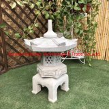 Cheap Natural Stone Lamp Granite Garden Lantern / Candle Stone Lantern