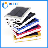 Portable Solar Power Bank 20000mAh Dual USB LED Power Bank Mobile Phone Battery Charger