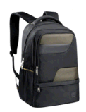 Black Laptop Backpack with Simple and Fashion Design