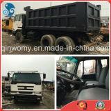 Front-Lift-Dumping 6*4-LHD-Steering Used Japan-Original 13ton Manual-Transform Nissan Ud Dump Truck