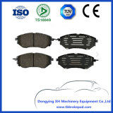 Subaru Tribeca No Noise Low Metal City Road Brake Pad D1078