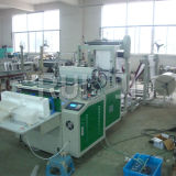 Double Layer EPE Foam & Air Bubble Film Bag Making Machine