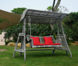 Wholesale Quality PE Rattan Garden Swing Chair (Sw02003)