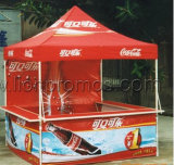 Food Coffee Beverage Supermarket Outdoor Events Display Tents with Shelf and Shade Fabric