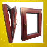European Quality Solid Wood Window with Aluminum Cladding
