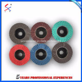 2018 New Products Plastic Backing Plate Aluminum Oxide Flap Disc