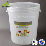Big Gallon Brewing Bucket Pail with Gallon and Liter Markings