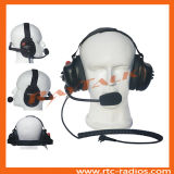 Walkie Talkie Behind The Head Type Heavy Duty Headset