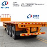 3 Axles CNG Gas Tube Bundle Container Semi Trailer