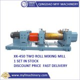 in Stock Xk-450 18inch Rubber Two Roller Open Mixing Mill Machine with Discount Price
