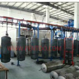 Water Heater Enamel Powder Coating Spray Line