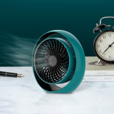 Battery Operated Small Desk Fan, Portable Personal Mini Table Fan
