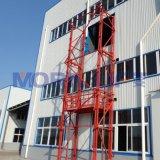 Hydraulic Guide Rail Goods Cargo Lift Platform for Warehouse Mezzanine Building
