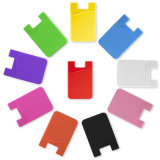 Sticky Mobile Phone Holder Silicon Card Sleeves with Logo Printing