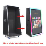 Large Mirror Photo Booth Touch Screen with Camera and Printer for Party and Wedding
