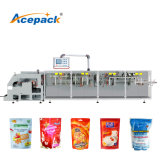 Automatic Pouch Forming Disinfection Gel/ Sanitizing Gel Filling / Coffee Nut Salt Sugar Powder Snack Doypack Zipper Pouch Filling Packaging Packing Machine