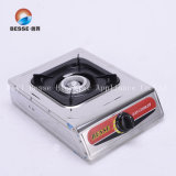 Great Quality Stainless Steel Gas Stove/Cooker with 1 Burner and High Fire (ZG-1002)