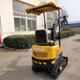 Ce Approved 1000 Kg Mini Excavator Digging Machine for Sale