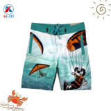 Quick Dry Summer Boys Sublimation Print Beach Board Shorts Surf Swimwear for Kids