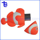 Best Price Cartoon Clownfish USB 2.0 Flash Stick