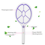Rechargeable USB Charging High Voltage Mosquito Fly Swatter