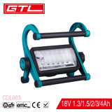 Rechargeable Lithium-Ion Battery LED Work Light with Torch