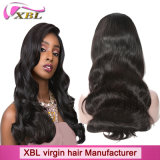 100% Natural Human Hair Virgin Peruvian Hair Full Lace Wig