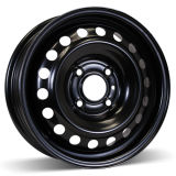 15X5.5 (4-114.3) Steel Black Winter Wheel Rim