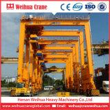 Top1 Crane Manufacturer in China Weihua Rtg Rubber Tyre Gantry Crane