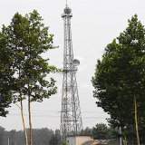 Microwave Communication Angle Power Transmission Steel Tower