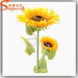 High Quality Real Touch Artificial Flower Plant Sunflower