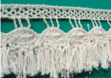 Fashion Cotton Crochet Fringe Lace for Table Cloth Curtain Hometextiles