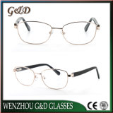 New Metal Spectacle Frame Frames Eyeglass Optical Eyewear for Woman Custom Made