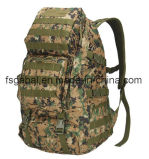 50L 600d Camouflage Army Assault Tactical Gear Military Bag Backpack