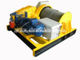 High Quality Winch for Mining, Construction, Pulling Pipe on Yard
