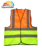 Customize Double Colored Reflective Safety Vest, Reflective Safety Garment, Reflective Safety Clothes