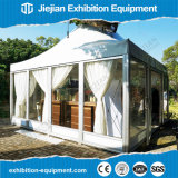 Aluminium Pagoda Tent Event Outdoor with Glass Sidewalls for Sale