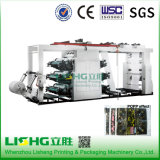 High Speed Packing Materials Flexographic Printing Machine 6 Colors