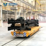 Steel Industry Transport Trailer Rail Power Flat Transfer Cart