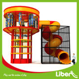 CE Approved Exciting Plastic Spider Tower with Safety Enclosure