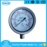 60mm 10kpa Stainless Steel Case Bottom Type Bellows Low Pressure Gauges