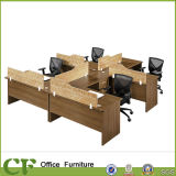 MFC Material Office Partition for Four Person