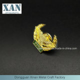 Factory Wholesale Price Gold-Plated Souvenir Badges and Pins