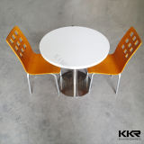 Round Fast Food Furniture Restaurant Tables