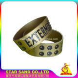 Wholesale Personalized China Make Free Silicon Rubber Wristband, Silicone Bracelet