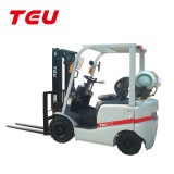 China Teu 1.5t LPG Gas Dual Fuel Forklift Fg15t