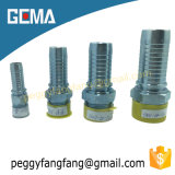 Carbon Steel Crimp BSPT Male Barb Swaged Hose Fittings 13011