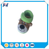 New Arrival Cute Soft Warm Children Indoor Green Winter Boots